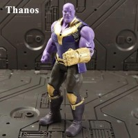 Action Figure Avengers Infinity War Thanos Thor Iron spider Captain