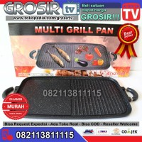 promo! HAPPY CALL MULTI GRILL PAN 2 in 1 ORIGINAL KOREA