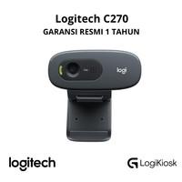 LOGITECH C270 HD Webcam 720P - GARANSI RESMI