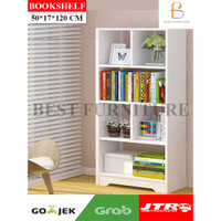 Best Bookshelf Rak Buku Minimalis Multifungsi by KURIR CARGO