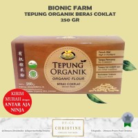 TEPUNG BERAS COKLAT ORGANIK BIONIC FARM TEPUNG BERAS COKLAT MPASI