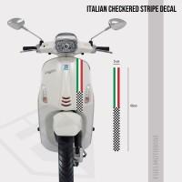 Sticker Decal Strip Italian Checkered Vespa LX Primavera Sprint S