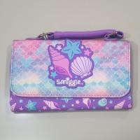 Smiggle Shell Glitter Pouch - Dompet Lipat Tiga