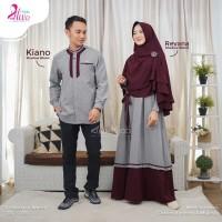 Couple Gamis Set + Koko Alwa Hijab Fatih Fania