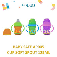 Baby Safe AP005 Cup Soft Spout 125ml Botol Minum Anak Bayi