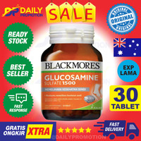 BLACKMORES GLUCOSAMINE SULFATE SULPHATE 1500MG 1500 MG KALBE 90 TABLET