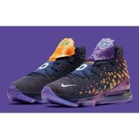 Sepatu Basket NIKE LEBRON 17 XVII Monstars Pack Purple Original Murah