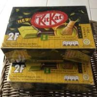 Kitkat Kit Kat Coklat 2F Finger Chocolate Green tea (box) Murah Sale