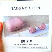 B&O Bang Olufsen E8 Bluetooth Earphones Pink