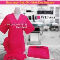 Baju OK /Lengan Pendek /Pink Fanta /Merk Dua Saudara - S