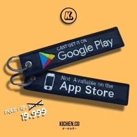 Gantungan Kunci Keytags / Keychain Not Available On the App Store