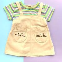 Baju Dress Anak Perempuan Import Katun Adem Fashion Bayi Perempuan 91 - S