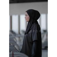 hijab jilbab sport olahraga Hijab Bergo instan bergo sport Non pad