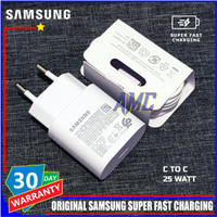 Charger Samsung A71 A81 ORIGINAL 100% 25W SUPER FAST CHARGING C TO C