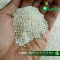 Pasir Menir Super / Kuarsa / Pasir untuk waterfall Aquascape - 1kg