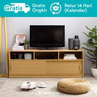 Moku Meja TV Minimalis atau Lemari Rak TV (Buffet TV Cabinet)
