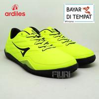 Ardiles Original - VIRTUOSO 38-43 Lime Hitam- Sepatu Futsal Pria Cowok