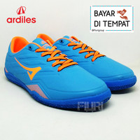Ardiles Original - VIRTUOSO 38-43 Biru Oranye-Sepatu Futsal Pria Cowok