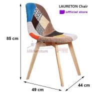 Kursi Milenial / Kursi Cafe / Kursi Restoran LAURETON Chair