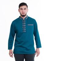 Baju Koko Gamis Pria Terbaru Akhtar Fashion Muslim - Tosca, L