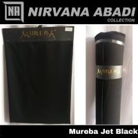 Kain Jetblack Jet Black MUREBA Kain Bahan Gamis dan Abaya Premium