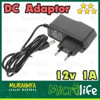 DC Adaptor 12v 1A Arduino GPRS GPS Digital DC Jack CCTV