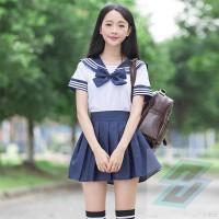 Baju Sekolah Jepang Japan School Uniform Seifuku Cosplay Sailor Anime