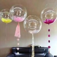 Balon PVC Balon Bobo Balon Transparan 18 Inch Medan