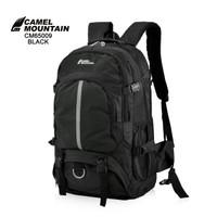 Tas Gunung CM 65008 Berkapasitas 70L , Ransel Gunung Cocok Hiking,Camp - Black