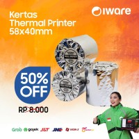 KERTAS PRINTER THERMAL 57 x 40 - KERTAS STRUK MOBILE PRINTER / EDC