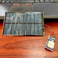 modul power bank solar cell panel surya 5V 1.1W lengkap dg modul