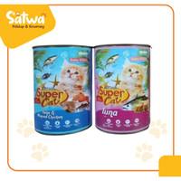 Makanan Kaleng Kucing Supercat Baby Kitten 400gr TUNA - TUNA CHICKEN - BABY TUNA CHKN