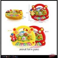 Mainan Anak Animal Farm Piano Musik Suara Hewan