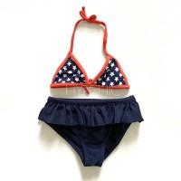 Baju renang Anak / bikini bayi branded (atasan aja & 1set) (navy star)