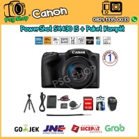 Canon Powershot SX430 IS Paket Promo SX 430 IS - SX430IS