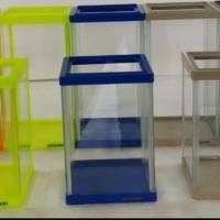 soliter / aquarium cupang acrylic bahari 13x13x24