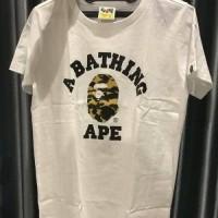 KAOS BAJU A BATHING APE BAPE PRIA WANITA FASHION BRANDED BAHAN KATUN