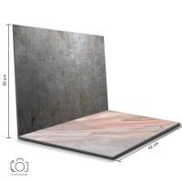 Background Foto Lipat Steel & Marmer Pink / Backdrop Foto (STL-19)
