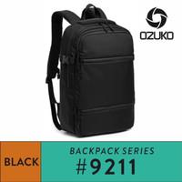 Ozuko Backpack #9211 - Black