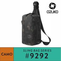 OZUKO Sling Bag #9292S - Camo