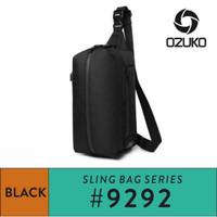 OZUKO Sling Bag #9292S - Black