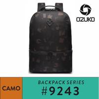 OZUKO Backpack #9243 - Camo