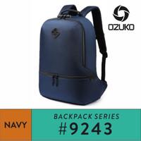 OZUKO Backpack #9243 - Black
