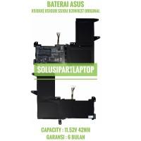 BATERAI ASUS VIVOBOOK X510UR X510UQ F510U F510UA B31N1637 ORIGINAL