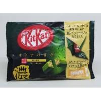 Kit Kat Mini Strong Green Tea 135gr / KitKat Wafer Teh Jepang