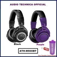 Audio Technica ATH-M50XBT Wireless Over Ear Headphone ATH M50X BT - Hitam