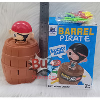 Black Beard King Pirate Roulette Game Lucky Barrel Game PIrates