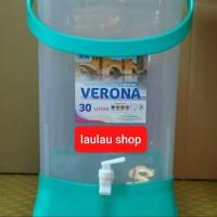 Arizona Drink Jar Ezy Verona 30 Liter Tempat Air Minum / Ember + Kran