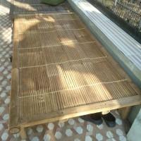 Bale Kayu Alas Bambu Uk 100 cm (anyam)