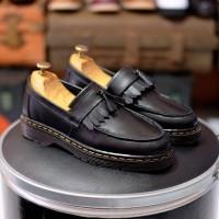 Sepatu Casual Pria Azcost Loafers Kulit Asli Ukuran besar 44 45 46 47